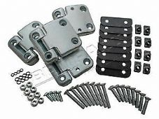 Land Rover Defender - Front Door Hinge Heavy Duty Kit For 2 Front Doors - DA1070